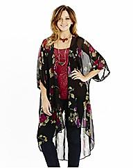 Longline Kimono Cover Up
