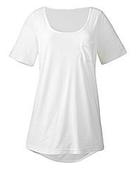 Slub Jersey T Shirt