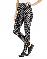 Print Jersey Leggings