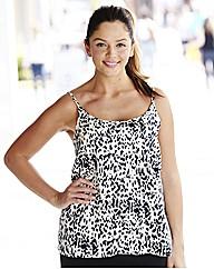 Animal Print Camisole Vest