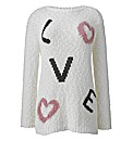 Love Jumper Popcorn Knit