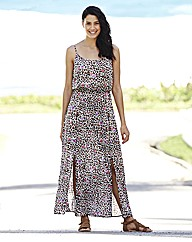 Split Hem Maxi Dress