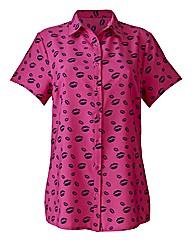 Lip Print Shirt