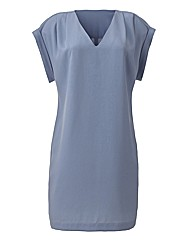 Pleat Shoulder Tunic