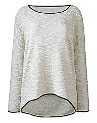 Boucle Jersey Top