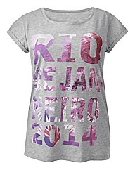 Rio Print T Shirt