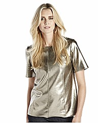 Metallic Shell Top