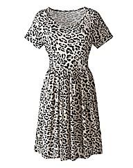 Animal Print Jersey Tunic