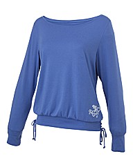 Body Star Yoga Slouch Top