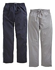 JCM Sports Pack of 2 Pants 29in