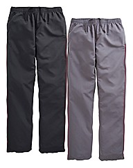 JCM Sports Pack of 2 Pants 31in