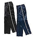 JCM Sports Pk of 2 Polyester Pants 33in