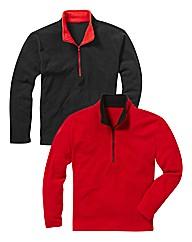 JCM Sports Pk 2 1/4 Zip Fleece