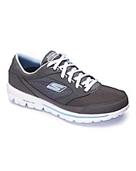 Skechers Walk Baby Trainers EEE Fit