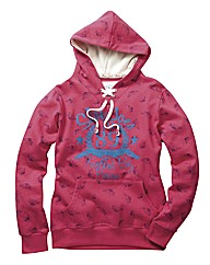 Ladies JB Hooded Top Reg