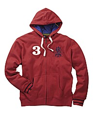 Joe Browns Full Zip Rugby Hood Reg