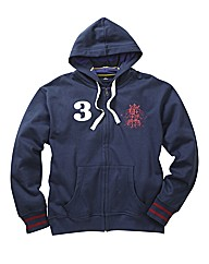 Joe Browns Full Zip Rugby Hood Long