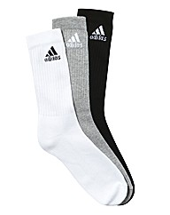 Adidas Pack of 3 Socks