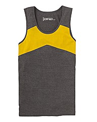 Jacamo Graffitti Vest Top Long