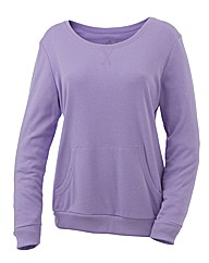 Body Star Scoop Neck Yoga Top