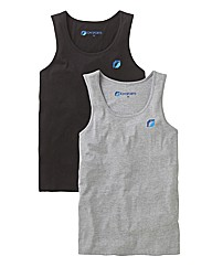 JCM Sports Pack of 2 Vests