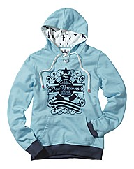 Ladies Joe Browns Hooded Top Long