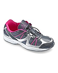 Ladies Bungee Trainers E Fit