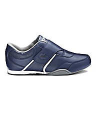JCM Sports One Strap Trainers Extra Wide