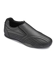 Mens Slip On Trainer Standard Fit