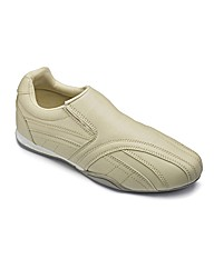 Mens Slip On Trainer Extra Wide Fit