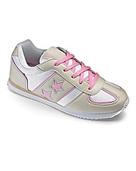 Ladies Star Trainers E Fit