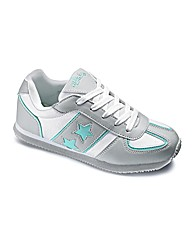 Ladies Star Trainers EEE Fit