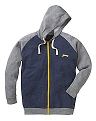 Slazenger Mens Full Zip Hood Long