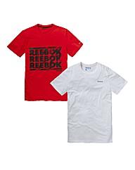 Reebok Pack of 2 T-Shirts