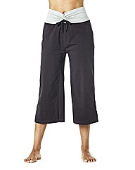 Body Star Wide Fit Capri Pants