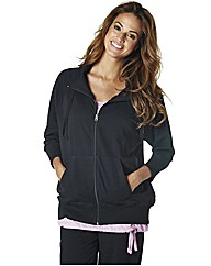 Body Star Zip Through Sweater