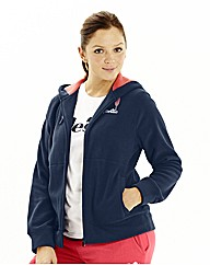 Ellesse Mircofleece Hooded Jacket