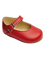 Early Days Mary Jane Leather Pram Shoes