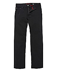 Pierre Cardin Black Denim Jeans 40in Leg