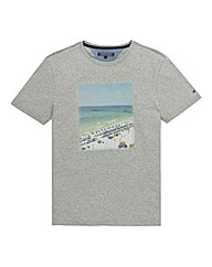 Tommy Hilfiger Mighty Beach Print TShirt