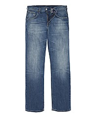 Tommy Hilfiger Mid Wash Jeans 32in Leg
