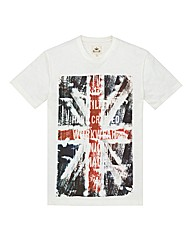 Kayak Mighty Union Jack Print T Shirt