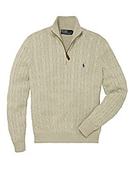 Polo Ralph Lauren Tall Half Zip Jumper