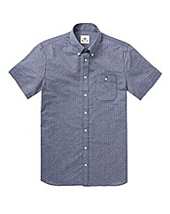 Kayak Tall Mini Dot Print Shirt