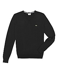 Lacoste Tall V Neck Jumper