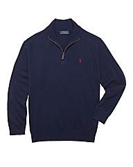 Polo Ralph Lauren Mighty Zip Neck Jumper