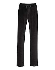Body Star Velour Jogger Regular Length