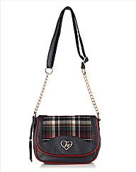 Lipsy Plaid Cross-Body Bag