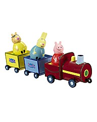 Peppa Pig Pull-Along Wobbly Train