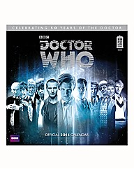 Dr Who 50th Special Calendars Square